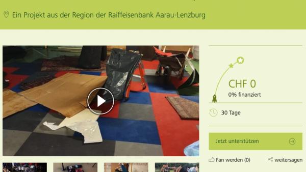 crowdfunding Wiederaufbau Probelokal